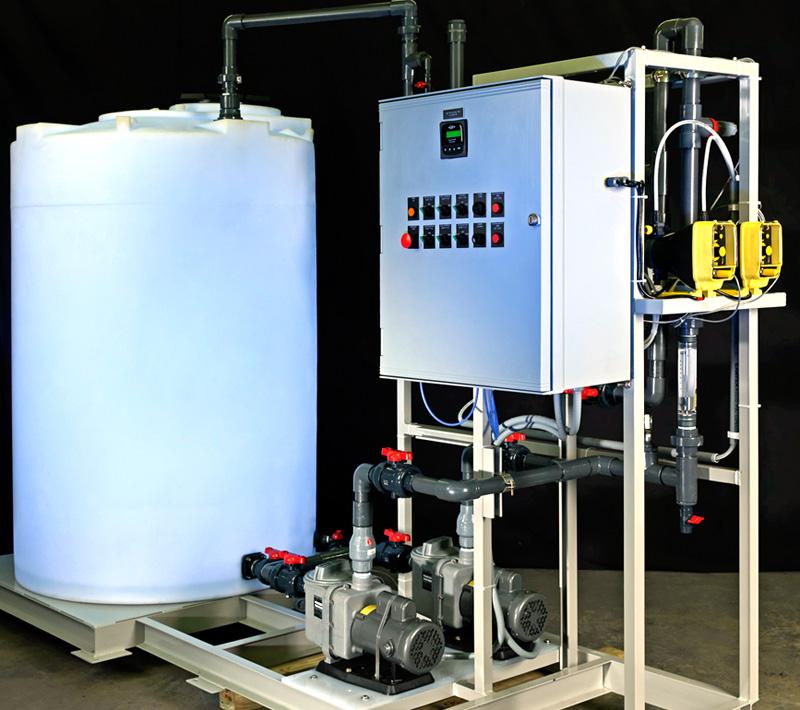 Acid and Soduim Hydroxide Chemical pH Systems