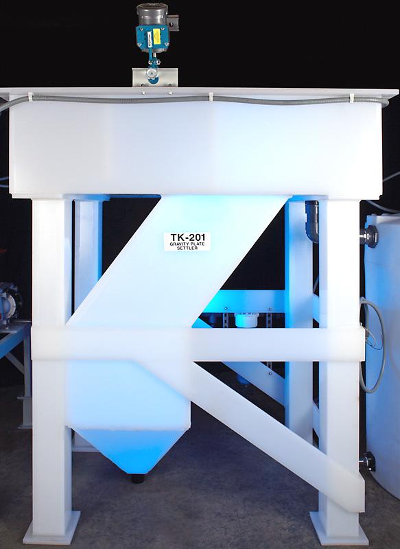 Corrosion-Resistant Polypropylene Clarifier & Settling Systems