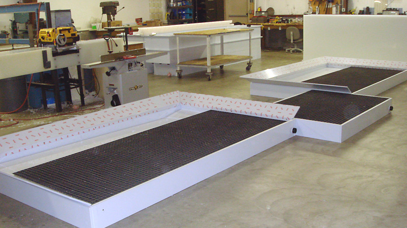 Custom and Standard Polypropylene Containment Systems
