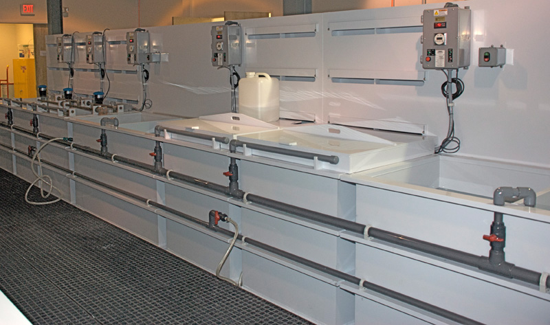 Process Plating And Cleaning Equipment Commercial Water