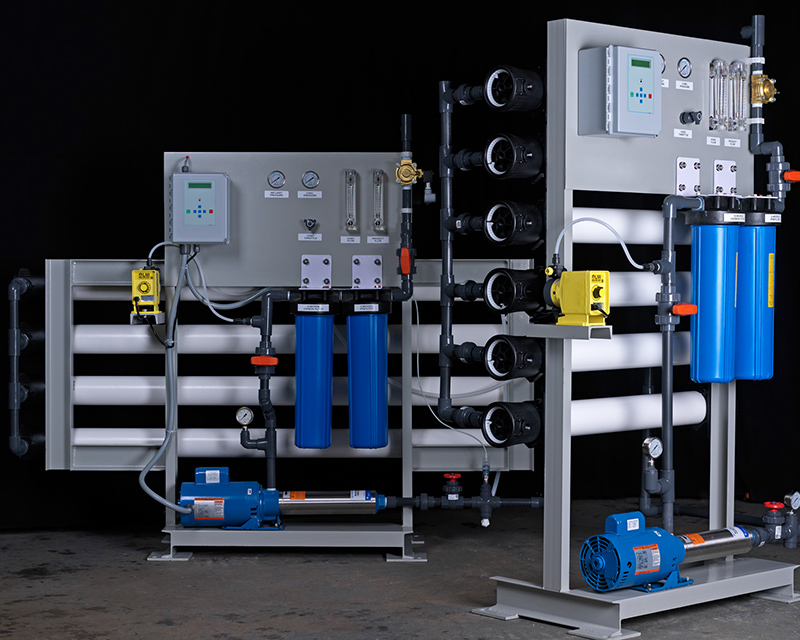 Reverse osmosis water filter and system design and implementation